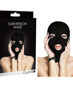 Ouch Subversion Mask - Black Hood Mask