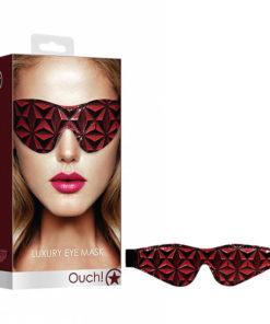 OUCH! Luxury Eye Mask - Burgundy -