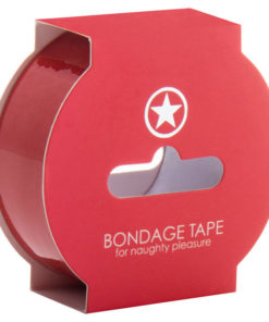 Ouch! Non Sticky Bondage Tape - Red - 17.5 m Length