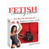 Fetish Fantasy Series Beginner's Furry Cuffs - Red Fluffy Cuffs