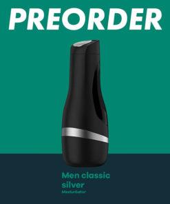 Satisfyer Men Classic - Black/Silver Stroker