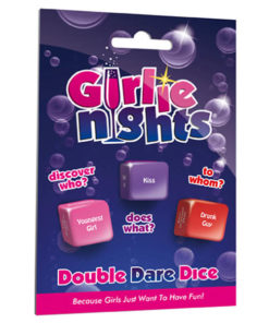 Girlie Nights Double Dare Dice - Hens' Party Dice Game