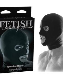 Fetish Fantasy Series Limited Edition Spandex Hood - Black Bondage Hood