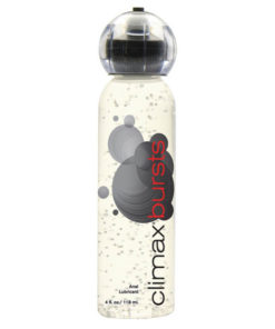 climax bursts - Water Based Anal Lubricant - 118 ml (4 oz) Bottle