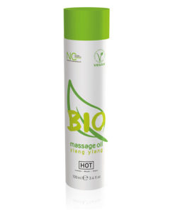 HOT BIO Massage Oil - Ylang Ylang Infused Massage Oil - 100 ml