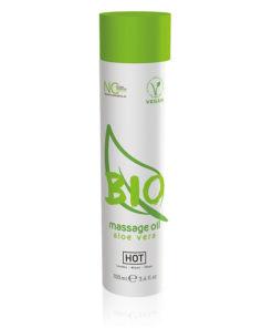 HOT BIO Massage Oil - Aloe Vera Infused Massage Oil - 100 ml