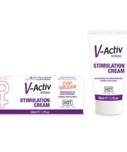 HOT V-activ Stimulation Cream - Enhancer Cream for Women - 50 ml Tube
