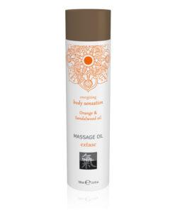 SHIATSU Massage Oil - Extase - Orange & Sandalwood Scented - 100 ml