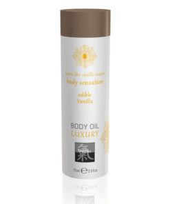 SHIATSU Edible Body Oil - Luxury - Vanilla Flavoured - 75 ml
