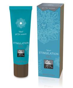 SHIATSU Stimulation Gel - Mint Gel for Women - 30 ml