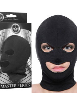 Master Series Facade Hood - Black Hood Mask