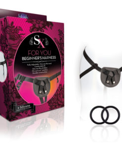 SX - For You - Black Adjustable Strap On Harness (No Probe Included)