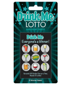 Drink Me Lotto - Party Scratcher