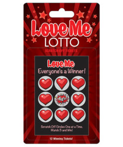 Love Me Lotto - Naughty Scratcher