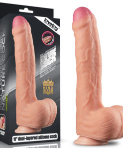 Nature Cock - Flesh 28 cm (11'') Dong