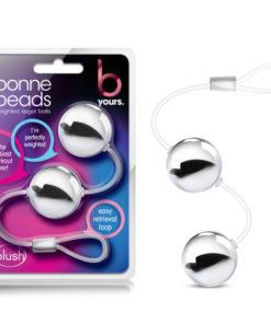 B Yours Bonne Beads - Silver Kegel Balls