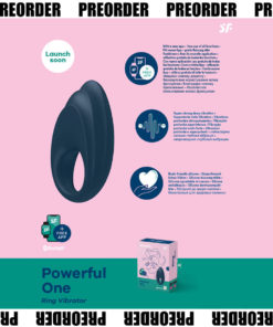 Satisfyer Powerful One - App Controlled Vibrating Cock Ring