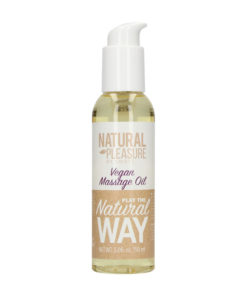 Natural Pleasure Vegan Massage Oil - 150 ml Bottle