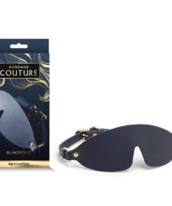 Bondage Couture Blindfold - Blue Eye Mask