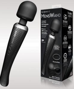 Bodywand MensWand - Black USB Rechargeable Massage Wand