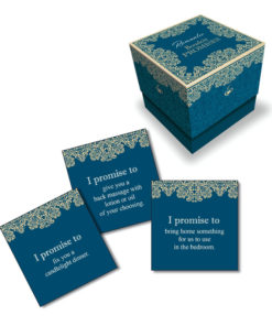 Behind Closed Doors - Romantic Boudoir Promises - Lovers Activity Cards - Set of 30