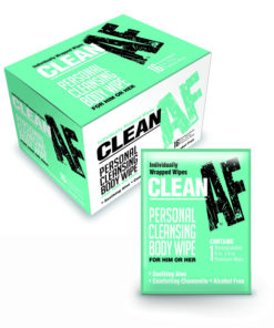 Clean AF - Personal Cleansing Wipes - Personal Cleansing Wipes - Box of 16