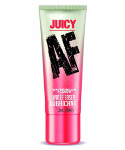 Juicy AF - Watermelon - Watermelon Flavoured Water Based Lubricant - 60 ml Tube