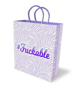 #Fuckable Gift Bag - Novelty Gift Bag
