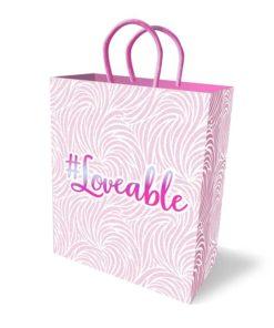 #Loveable - Gift Bag - Novelty Gift Bag