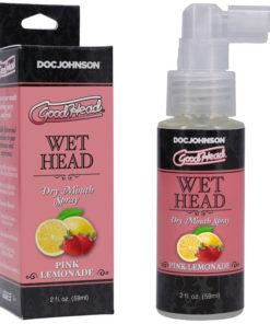 Goodhead Wet Head Dry Mouth Spray - Pink Lemonade Flavoured - 59 ml Bottle