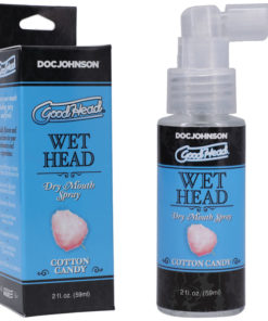 Goodhead Wet Head Dry Mouth Spray - Cotton Candy Flavoured - 59 ml Bottle