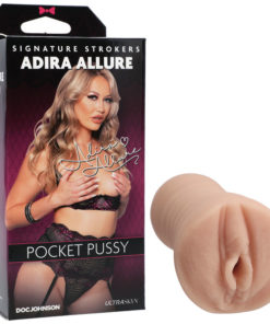 Adira Allure UltraSkyn Pocket Pussy - Flesh Vagina Stroker